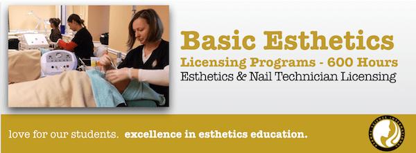 Basic Esthetician School Training