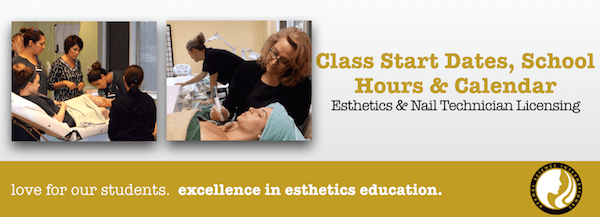 Esthetician college subjects mecc