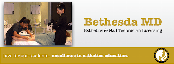 Esthetics School and Nail Tech School Serving Bethesda MD