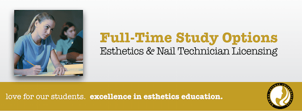 Full Time Study Options for Esthetician School