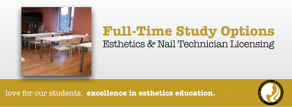 Full Time Study Options for Esthetician Schools