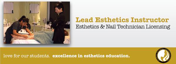Lead Esthetics Instructor for Dermal Science International