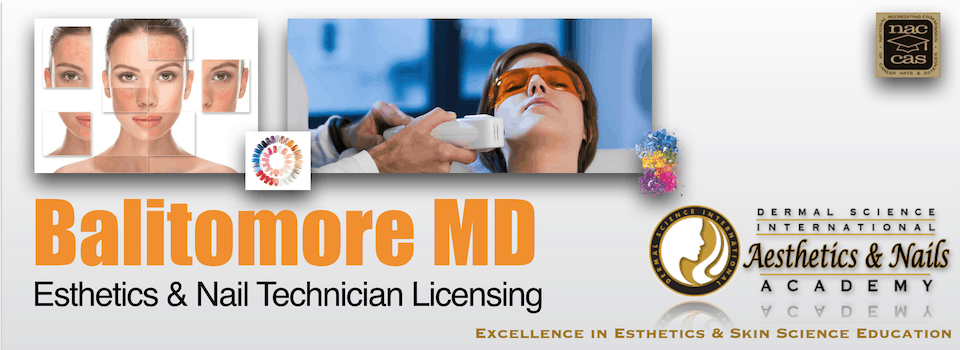 PIcture of Baltimore MD Esthetician and Nail Technician Licensing