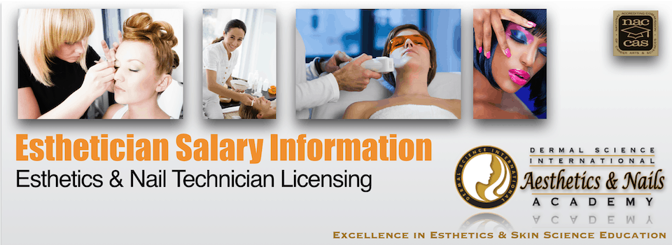 PIcture of Esthetician Salary Information