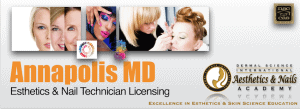 Picture of Annapolis MD Esthetician and Nail Technician Licensing