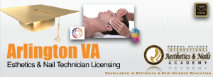 Picture of Arlington VA Esthetician and Nail Technician Licensing