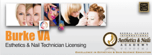 Picture of Burke VA Esthetician and Nail Technician Licensing