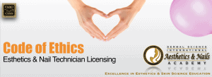Picture of Code of Ethics for Esthetician Licensing Programs