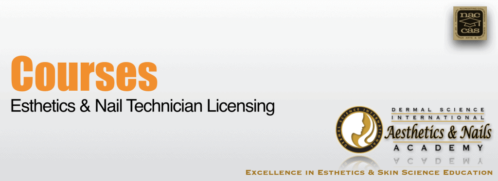 Picture of Courses for Esthetics Licensing and Nail Technician Training