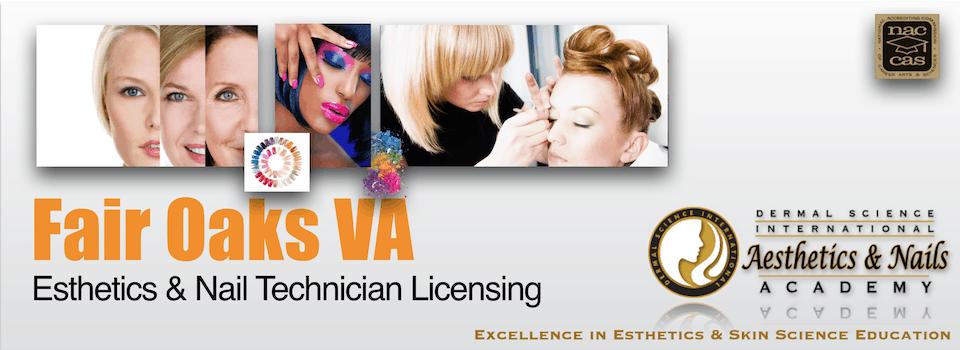 Picture of Fair Oaks VA Esthetician and Nail Technician Licensing