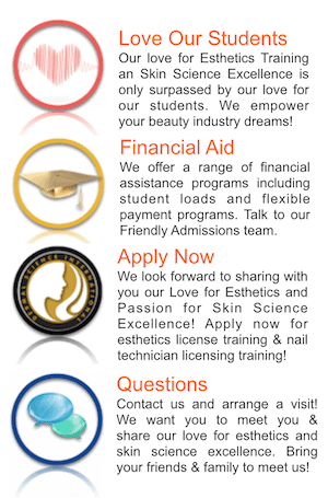 Picture of Financial Aid and How to Contact Dermal Science International Esthetics and Nail Academy in Reston VA