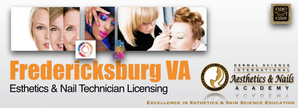 Picture of Fredericksburg VA Esthetician and Nail Technician Licensing