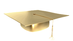 Picture of Graduation Cap with No Background