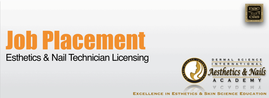 Picture of Job Placement for Esthetics and Nail Technician Licensing