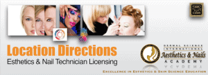 Picture of Location Directions at The Dermal Science International Esthetics and Nail Academy
