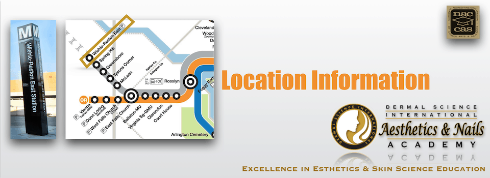 Picture of Location Information for the Dermal Science International Aesthetics and Nails Academy