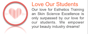 Picture of Love Our Students at Dermal Science international Esthetics and Nail Academy in Reston VA