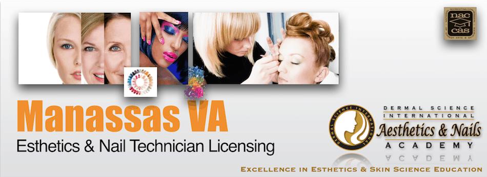 Picture of Manassas VA Esthetician and Nail Technician Licensing