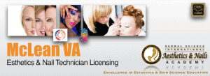 Picture of McLean VA Esthetician and Nail Technician Licensing