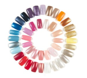 Picture of Nail Colors for Nail Technician Licensing Course
