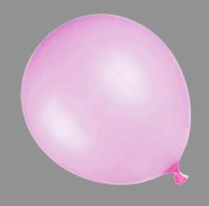 Picture of Pink Baloon at Esthetics Training