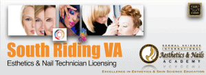 South Riding VA Esthetician and Nail Technician Licensing