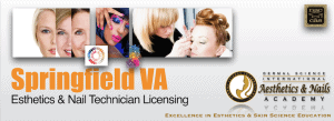 Picture of Springfield VA Esthetician and Nail Technician Licensing