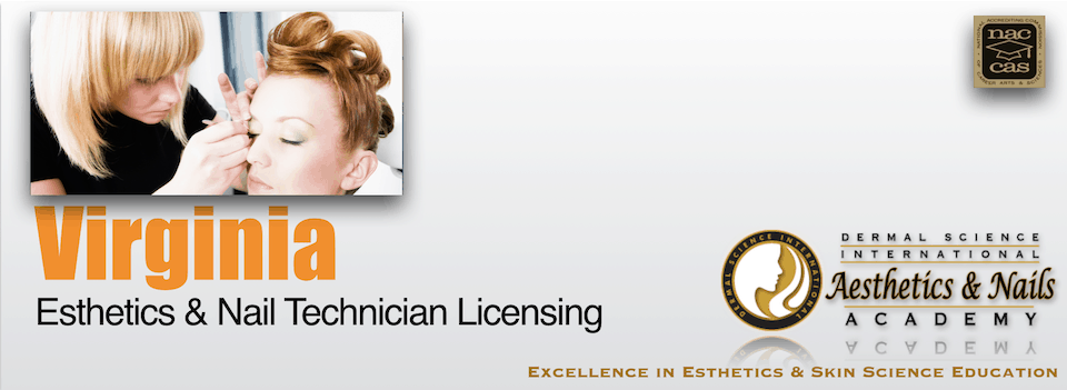 Picture of Virginia Esthetician and Nail Technician Licensing