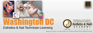 Picture of Washington DC Esthetician and Nail Technician Licensing