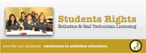 Students Rights at Dermal Science International DSI Esthetics School and Nail Tech School