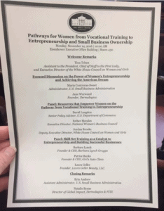 White House Conference on Pathways for Women