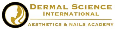 Logo for Dermal Science International Aesthetics & Nails Academy in Northern Virginia and Washington DC Metro