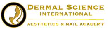 Logo for Dermal Science International Aesthetics and Nail Academy located in Northern Virginia, Tysons Corner and Reston VA